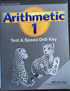Abeka Arithmetic 1 (Teacher) Test and Speed Drill Key (19737801)