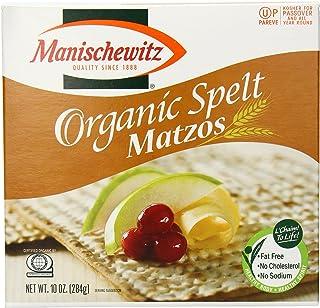 Manischewitz Organic Spelt Matzo Cracker, 10 Ounce