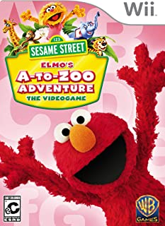 Sesame Street: Elmo's A-to-Zoo Adventure (Nintendo Wii)