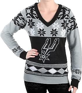 NBA Women's V-Neck Sweater