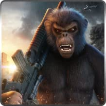 World of Apes Rules Of Survival In Wild Jungle Rampage 3D Game: Ultimate Apes Revenge In Safari Jungle Action Thrilling Simulator Mission Free For Kids 2018