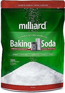 Milliard 19lbs Baking Soda/Sodium Bicarbonate USP - 19 Pound Bulk Resealable Bag
