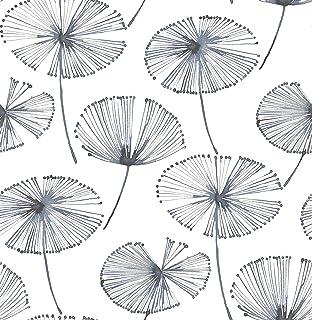 NuWallpaper NU2683 Aya Peel & Stick Wallpaper, White