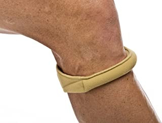 Cho-Pat Original Knee Strap - Recommended by Doctors to Reduce Knee Pain - Tan (Medium, 12.5
