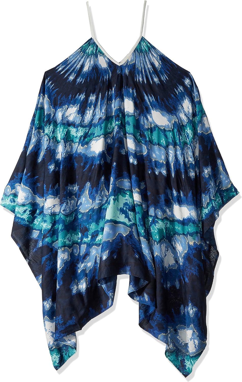 Collection XIIX Ltd. womens Tie Dye Coverup Fashion Scarf