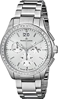 Maurice Lacroix Women's MI1057-SD502-130 Miros Stainless Steel Watch
