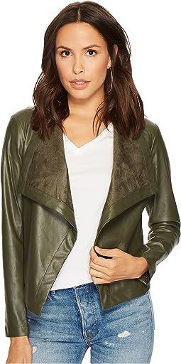 Gracelyn Drape Front Jacket