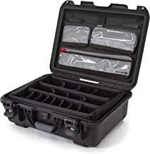 Nanuk 930 Waterproof Hard Case with Lid Organizer and Padded Divider - Black