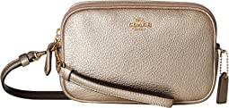 COACH - Crossbody Clutch in Metallic Leather