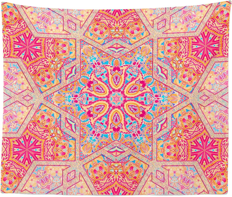 Boho New product!! Mandala Tapestry - Green and Animer price revision D Orange Bohemian Wall Hanging