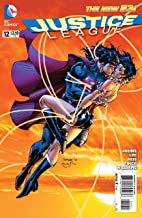 Justice League #12 Superman and Wonder Woman kiss Jim Lee Geoff Johns (Justice League DC New 52)