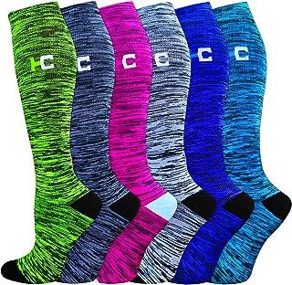 Compression Socks for Women&Men-20-30mmhg Best for Circulation,Pregnancy,Media,Nurse,Running,Travel