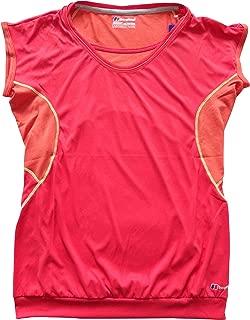 Berghaus argentium Vapor Base Crew SS AF t Shirt 420834N46 US 10 Pink