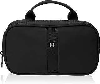 Victorinox Overnight Essentials Toiletry Kit, Black (Black) - 31173101
