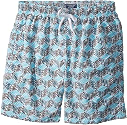 Vilebrequin Kids - Fishes Cube Swim Trunk (Big Kids)