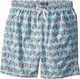 Vilebrequin Kids Fishes Cube Swim Trunk (Big Kids)