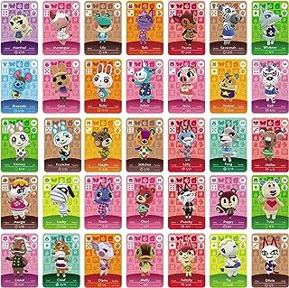 TPLGO 26 Pz ACNH NFC Tag Mini Gioco Carte Rare Personaggio Villico per New Horizons, Carte da Gioco Serie 1-4 per Switch /...