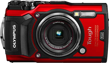 $429 » OLYMPUS TG-5 Red 12 million pixel CMOS F2.0 15m waterproof 100kgf load-bearing GPS + electronic compass and built-in Wi-Fi TG-5 RED(Japan Import-No Warranty)