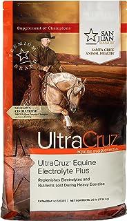 UltraCruz Equine Electrolyte Plus Supplement for Horses, 25 lb, Pellet (93 Day Supply),sc-516344