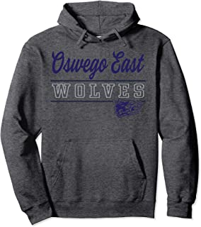 Oswego East High School Wolves Pullover Hoodie C9