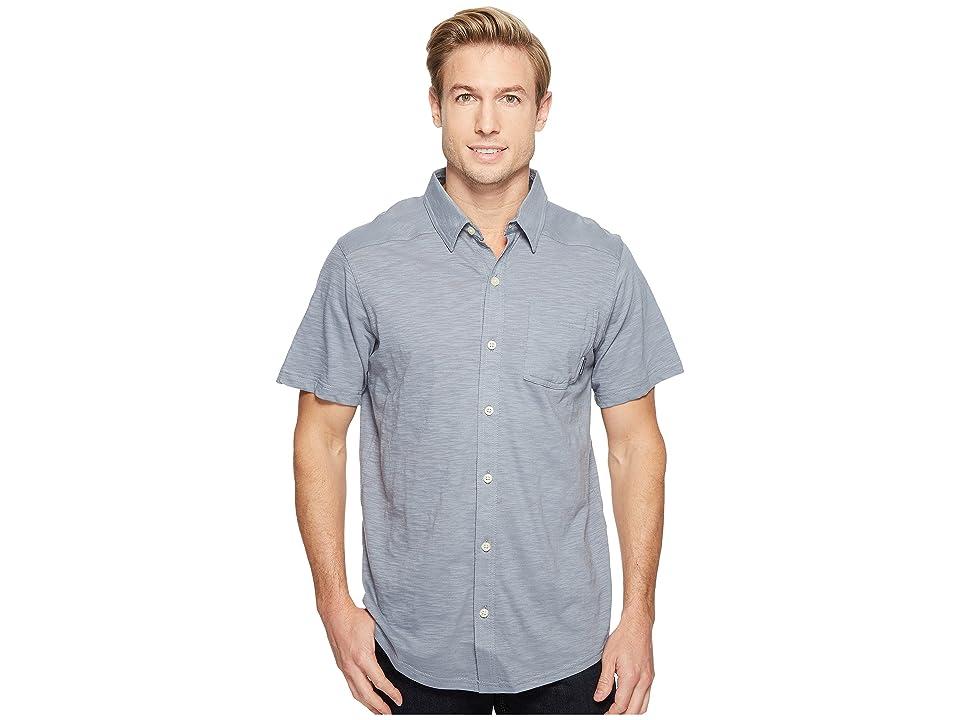 Columbia Lookout Pointtm Short Sleeve Knit Shirt (Grey Ash) Men