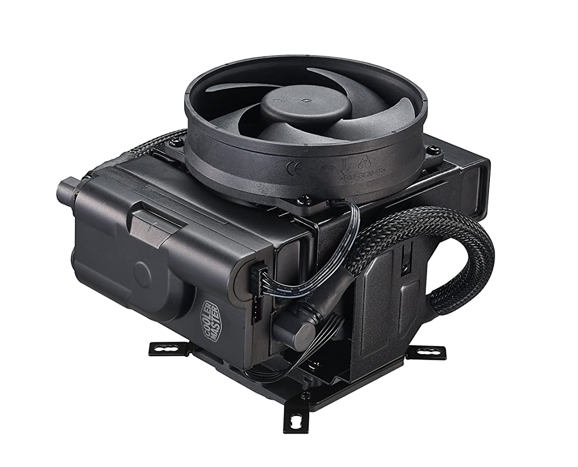 Cooler Master MasterLiquid Maker 92 CPU Cooler, All-in-one Hybrid Liquid Cooler, 92mm Fans, Vertical and Horizontal Positions xv069703066187