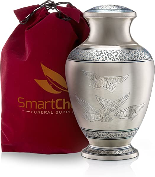 SmartChoice Wings Of Freedom Cremation Urn For Human Ashes Beautiful Funeral Urn Adult Urn For Ashes Handcrafted Urn Adult