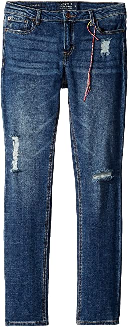 Giselle Rip and Repair Jeans in Sienna Wash (Big Kids)