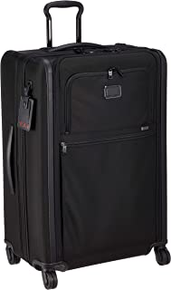 TUMI - Alpha 3 Medium Trip Expandable 4 Wheeled Packing Case - Rolling Luggage for Men and Women - Black