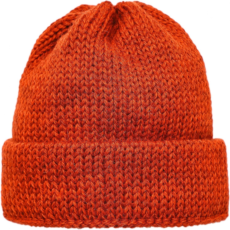 Universal Works Men's Orange Wool Max 84% OFF Max 80% OFF Beanie