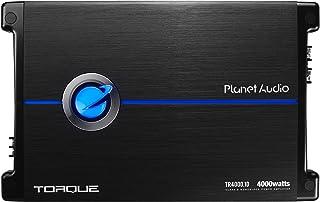 Planet Audio TR4000.1D Class D Car Amplifier – 4000 Watts, 1 Ohm Stable, Digital,..