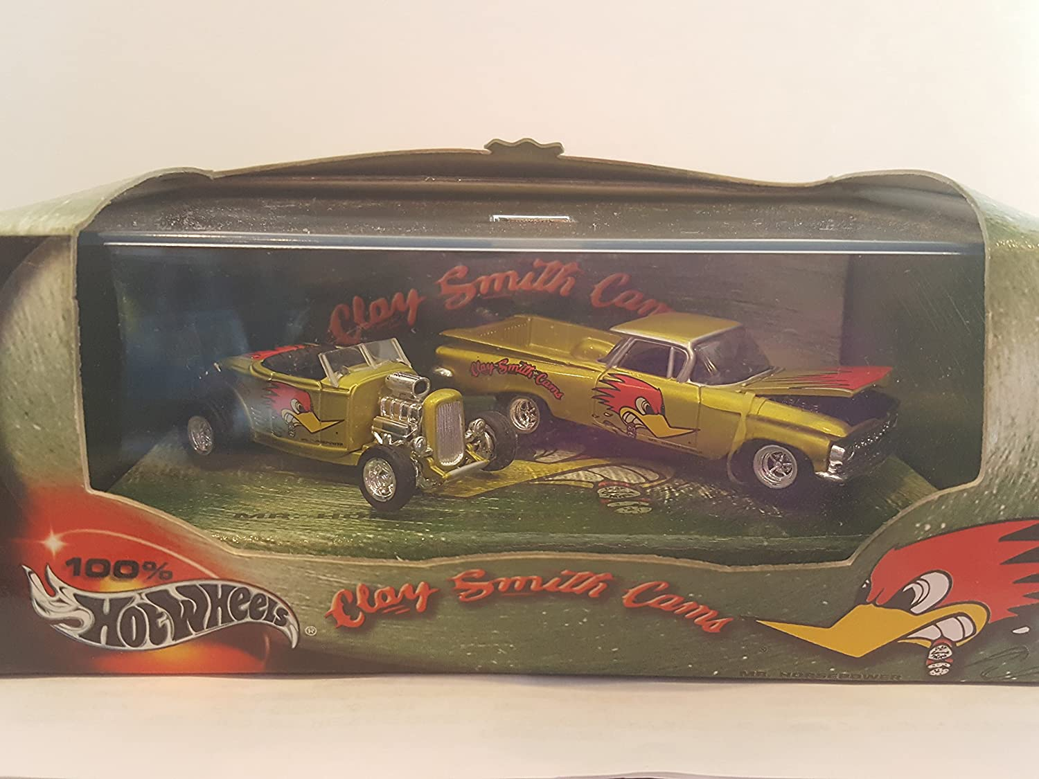 Hot Wheels Clay Smith Cams 2-Car Boxed Set 58 El Camino & 32 Ford Roadster Mr Horsepower by Mattel B005I4E8TC Öffnen Sie das Interesse und die Innovation Ihres Kindes, aber auch die Unschuld von Kindern, kindlich, glücklich     | Smart