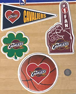 Rico Industries NBA Cleveland Cavaliers Team Color Auto Emblem 3D Sticker