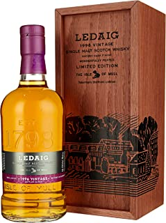 Ledaig Vintage 1996 Limited Edition Whisky in hochwertiger Holzschatulle 1 x 0.7 l