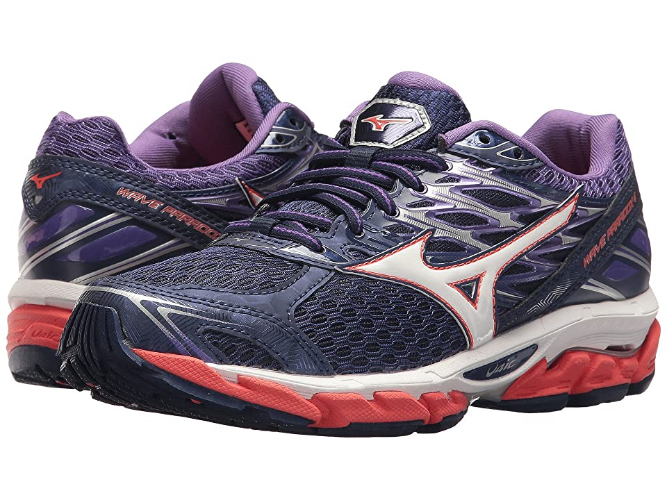 Mizuno Wave Paradox 4 (Patriot Blue/White) Girls Shoes