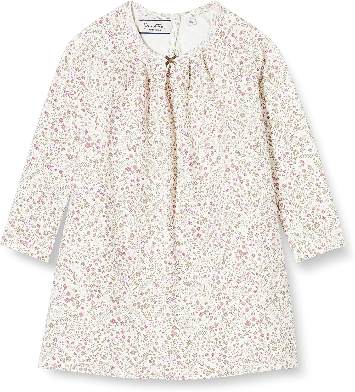 Sanetta Baby-M/ädchen Fiftseven Ivory Wei/ßes Sweatshirt mit zur/ückhaltendem Schwanen-Artwork in Rosa Fiftyseven