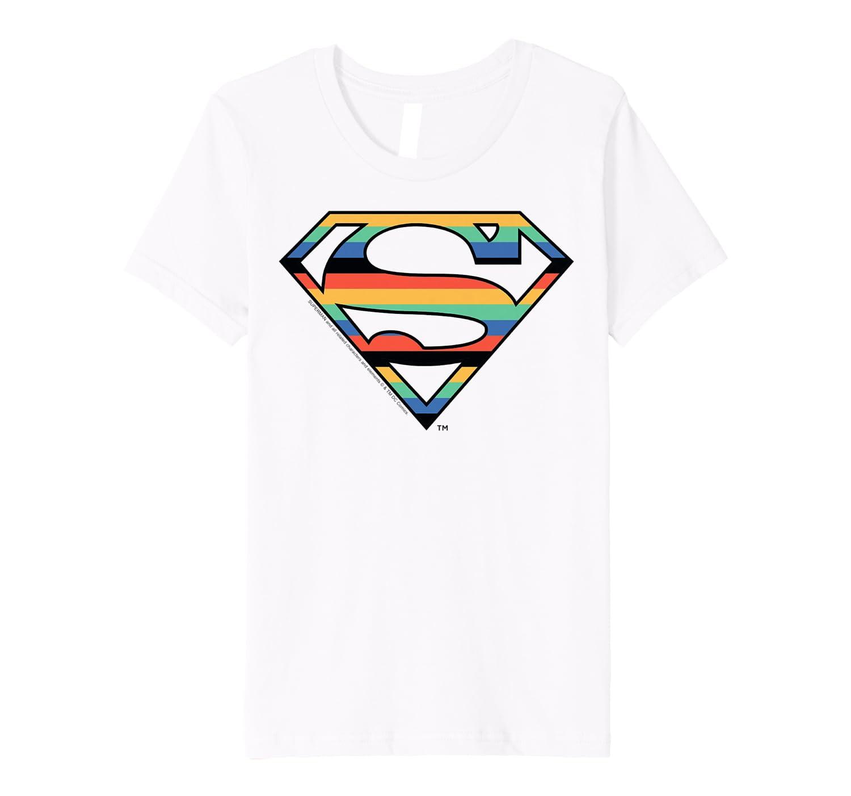 Kids Dc Comics Superman Retro Logo Shirts