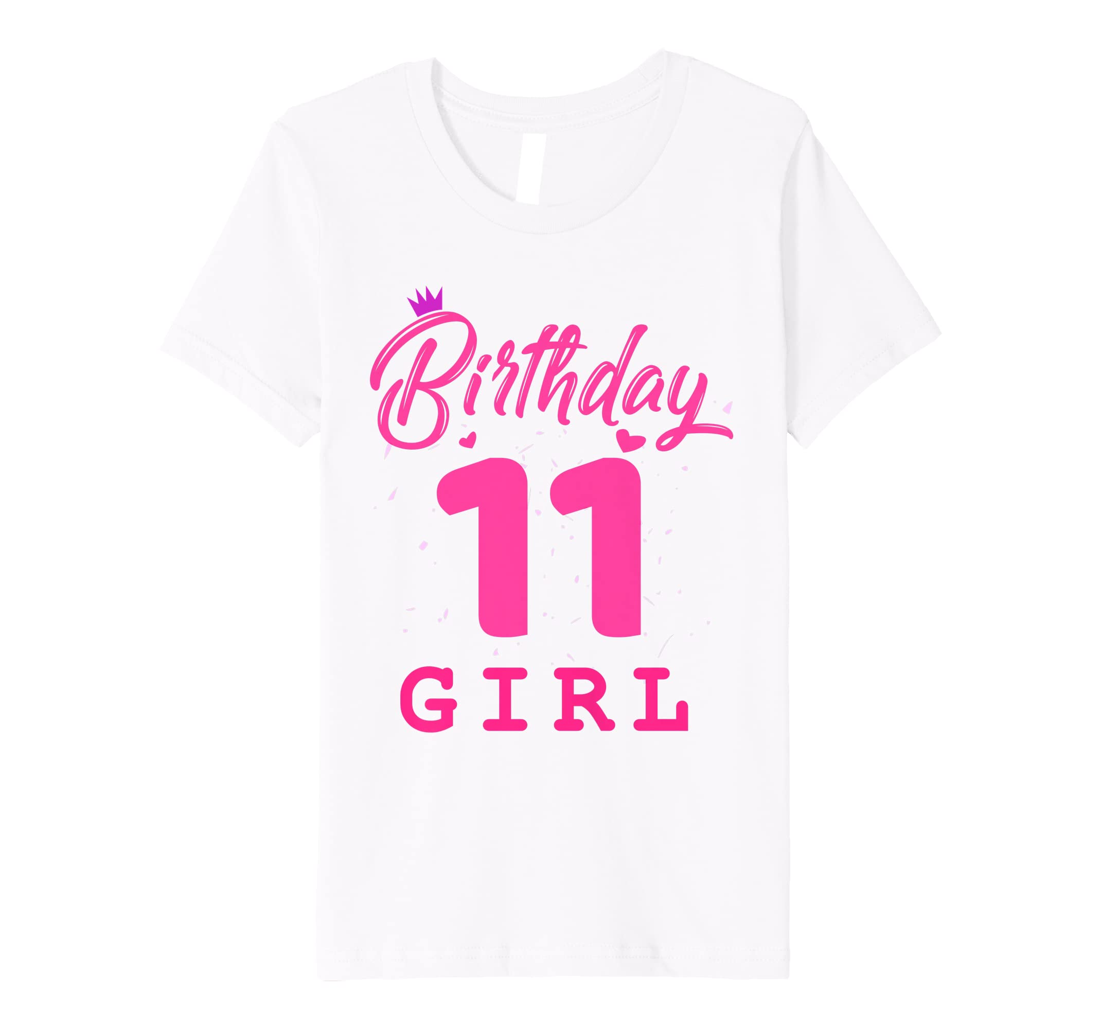 Amazon Happy Birthday Shirt Girls 11th Party 11 Years Old Bday Clothing