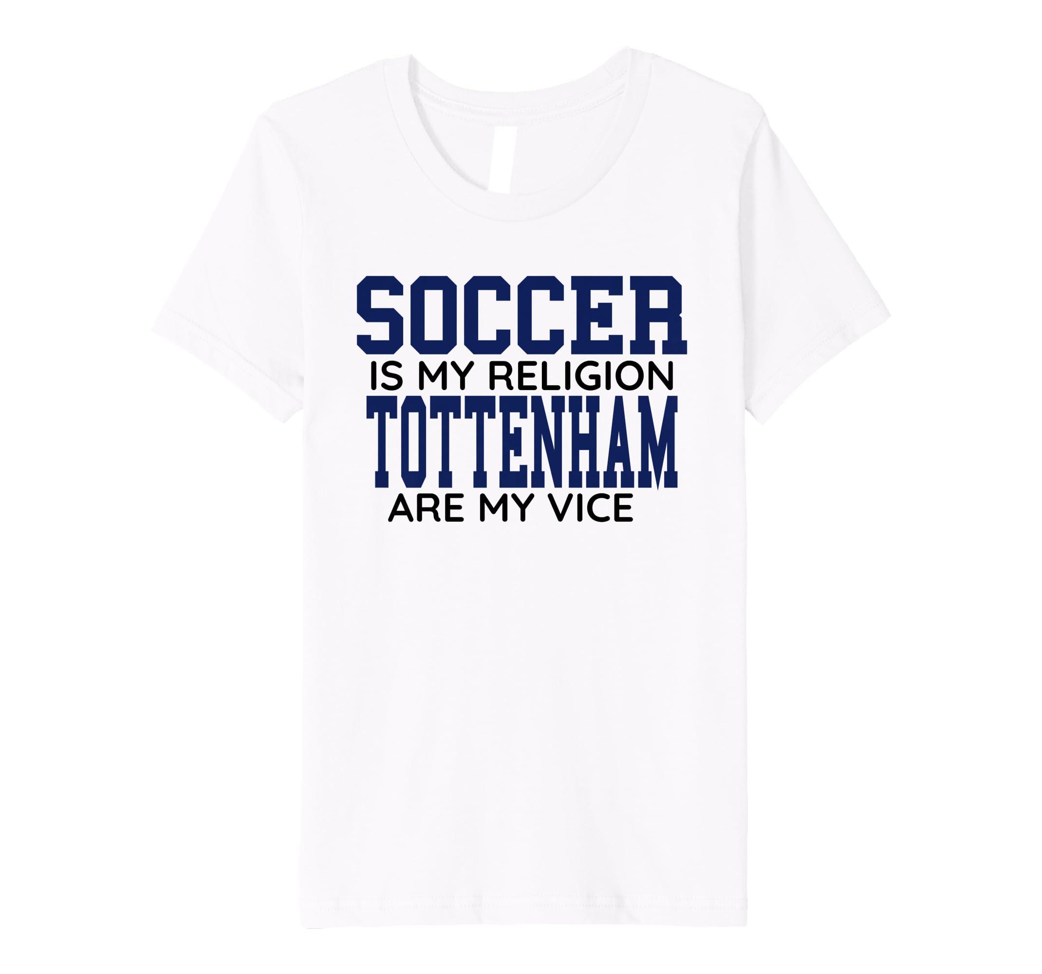 detailed look 5db11 b0c24 Amazon.com: Tottenham Jersey Spurs London Soccer Fan Gift ...