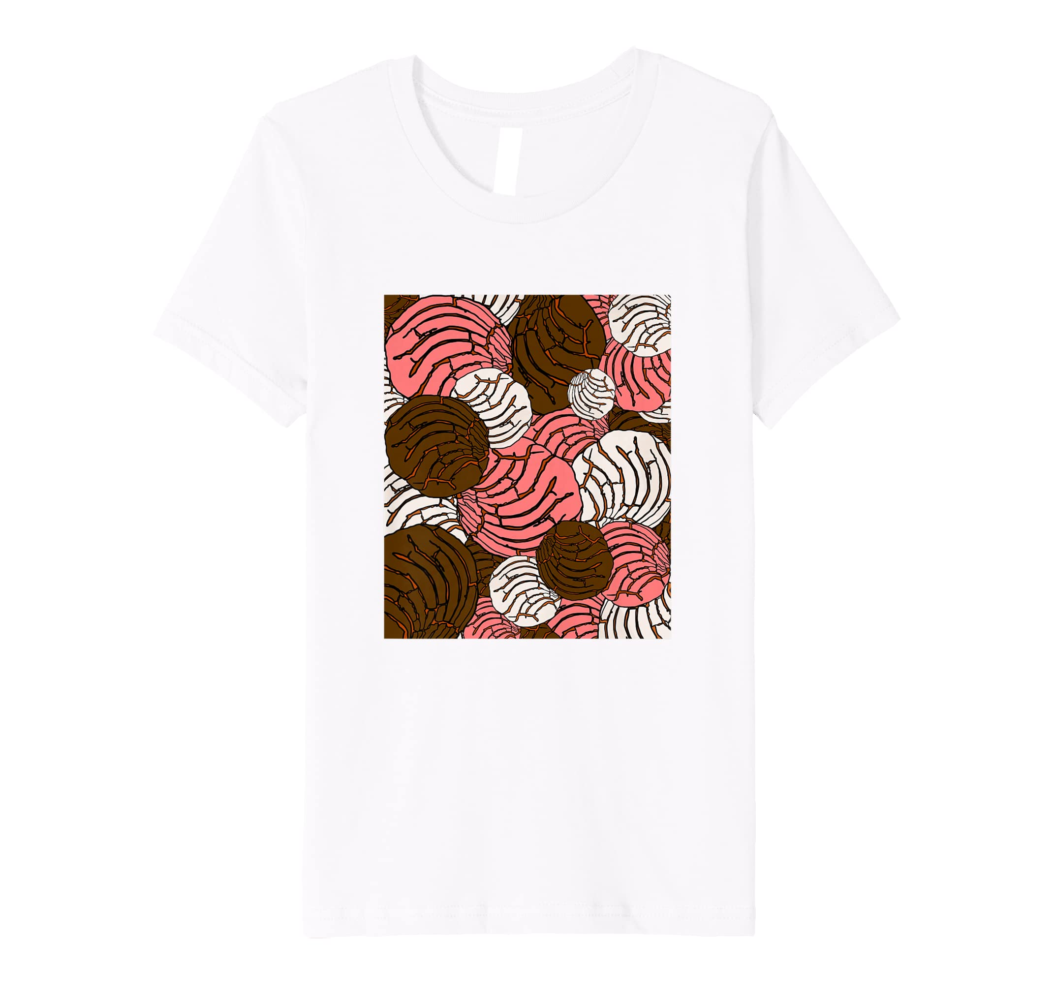 Amazon.com: Concha Mexican Bread Bakery Sweets Pan Dulce T-Shirt: Clothing