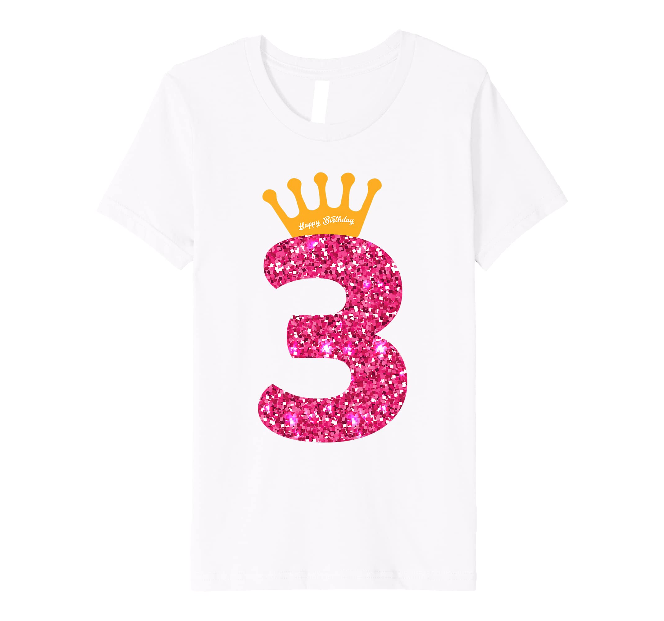 Amazon Happy Birthday Shirt Girls 3rd Party 3 Years Old Bday Clothing