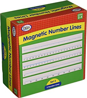 Didax Educational Resources Magnetic Number Lines, Gr. 3-4