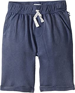 Washed French Terry Shorts (Little Kids/Big Kids)