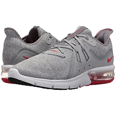 Nike Air Max Sequent 3 (Cool Grey/University Red/Wolf Grey) Men