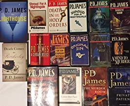 Adam Dalgliesh Murder Mystery Series Set by P.D. James 16 Book Set