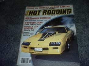 June 1985 Popular Hot Rodding Magazine (BUILD THE WORLD'S WILDEST CAMARO)