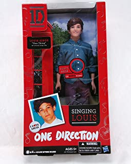One Direction Singing Louis Doll