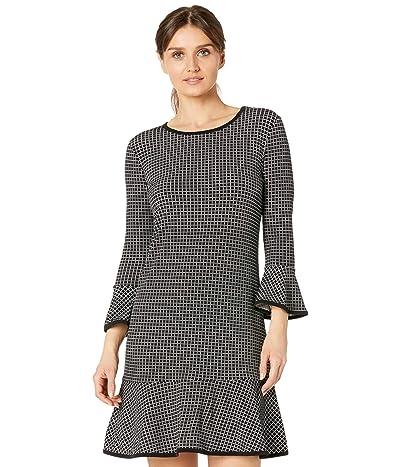 MICHAEL Michael Kors Petite Sailors Grid Flounce Dress Women
