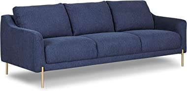 Poly and Bark Lissie Sofa in Chambray Blue