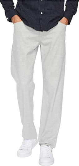 Graduate Tailored Leg Wool Like Pants in Moon Glade